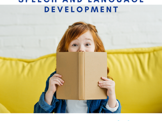 3 Books for Speech and Language Development