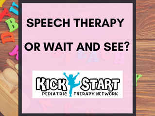 Speech Therapy or Wait and See?