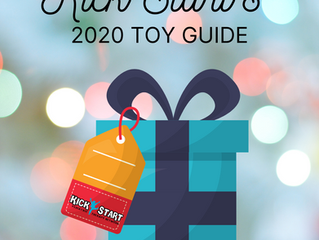 Kick Start's Toy Guide 2020