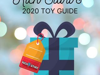 Kick Start's Toy Guide 2020