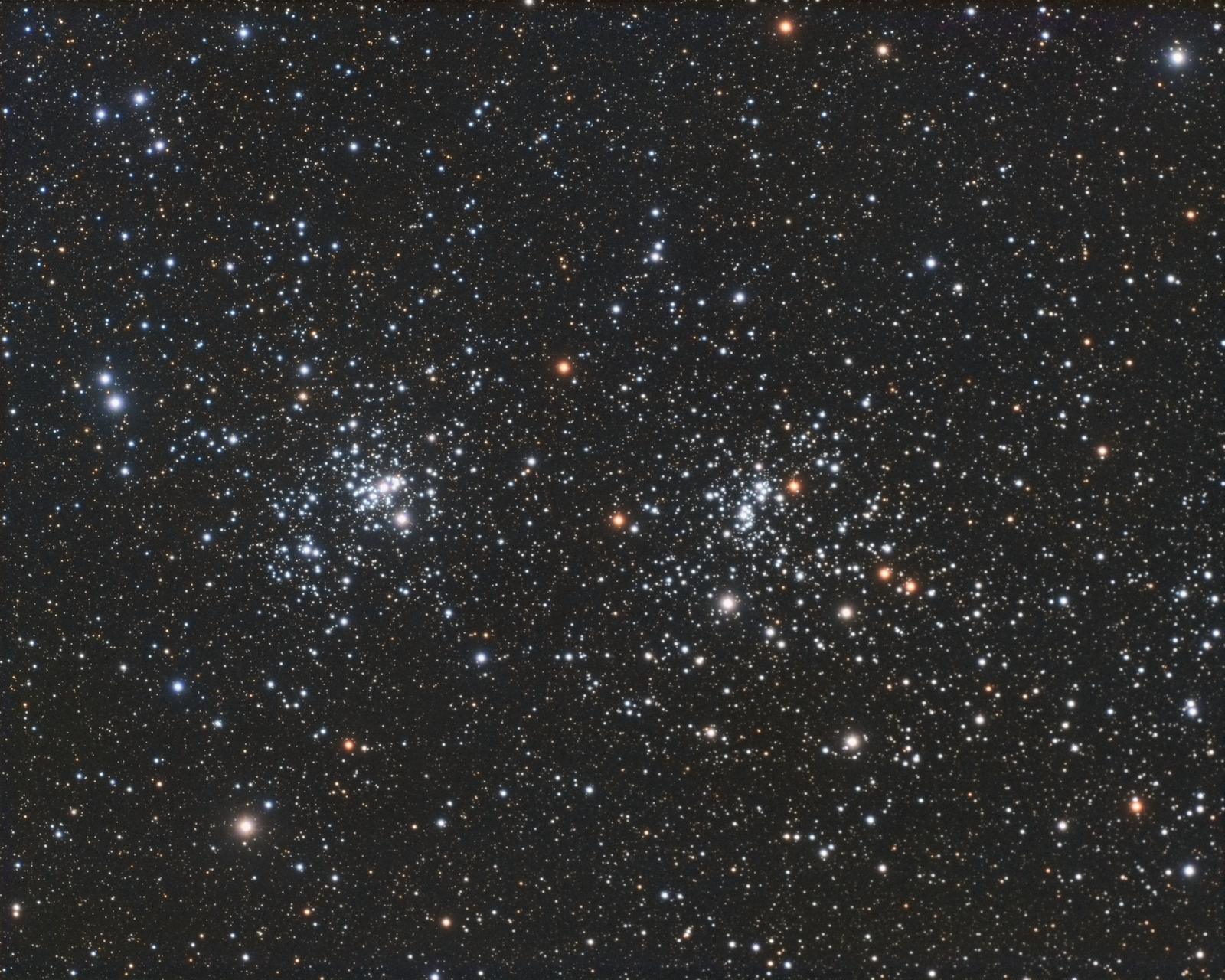 Double Cluster RGB