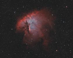 NGC281 Ha OIII