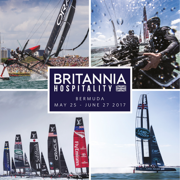 BRITANNIA HOSPITALITY A HUGE SUCCESS IN BERMUDA AT THE AMERICA'S CUP