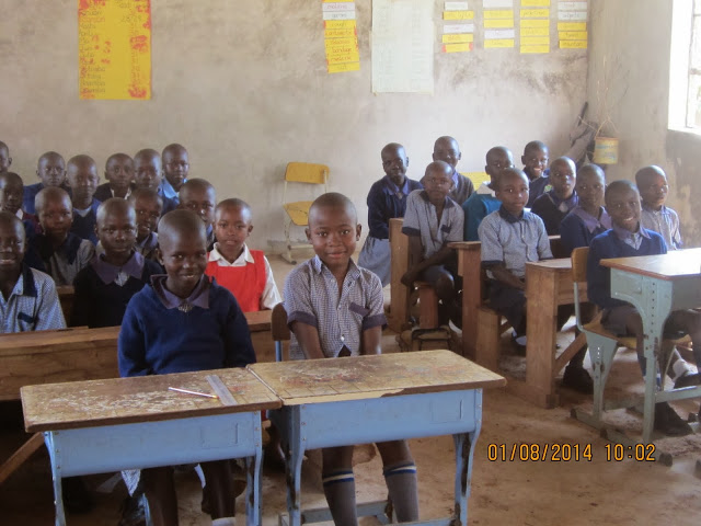 Class 4 students