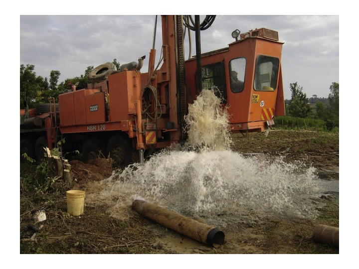 Drilling for well was a huge success