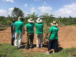 YFT team at YFT Farm in Yogo