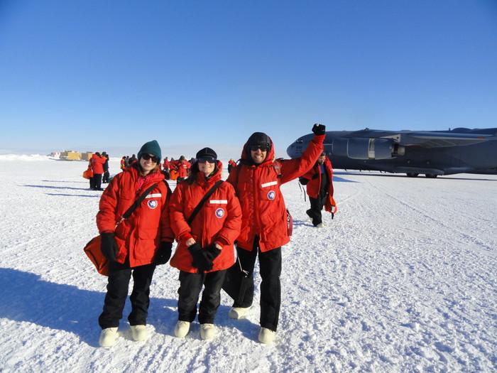 Arrival in McMurdo