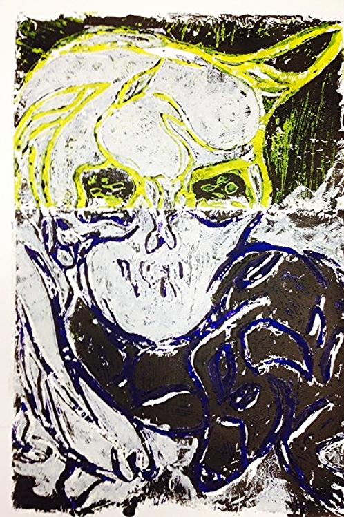 linocut on paper 2013