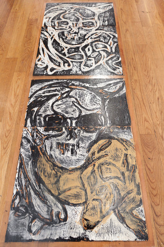 Zeitgeber exhibit - Gallery Brooklyn