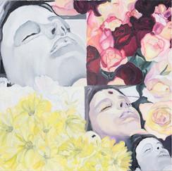 Girl in Flowers II