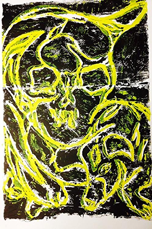 linocut on paper II 2013