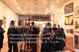 2013 -Zeitgeber exhibit opening- Gallery
