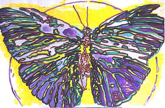 Globe & Butterfly