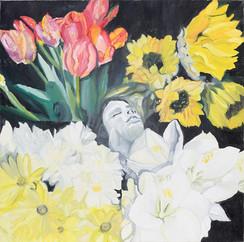 Girl in Flowers I