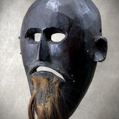 Masque du Népal / Mask from Nepal
