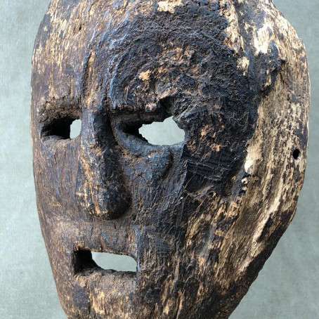 Masque de l'île de Timor / Timor island mask