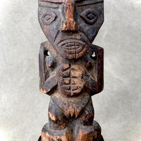 Statue Chancai précolombienne / Pre-columbian Chancai statue