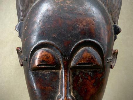 Masque Baoulé / Baule mask