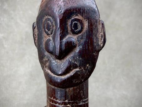 Maillet de sculpteur Iatmul / Iatmul sculptor's mallet