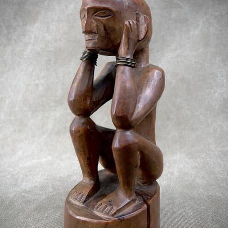 Statue Bulul du Peuple Igorot / Bulul figure from the Igorot people.