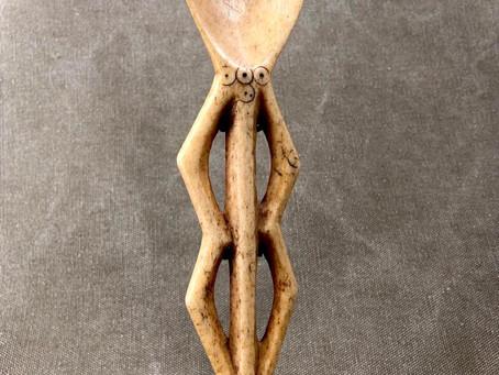 Cuillère cérémonielle Bwame / Bwame ceremonial spoon