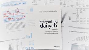 """Wartościowa historia z wyników czyli """"Storytelling danych"""" od Cole Nussbaumer Knaflic"""