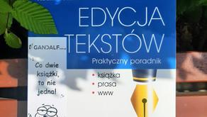 """Magia praktycznych wskazówek jak pisać poprawnie czyli """"Edycja tekstów"""" Adama Wolańskiego"""