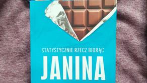 """Jak pokochać statystykę czyli """"Statystycznie rzecz biorąc"""" Janiny Bąk"""