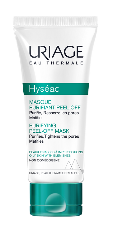 Uriage Hyseac Soft Peel-Off Mask 50ml NEW