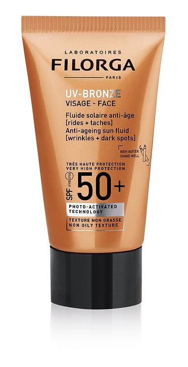 FILORGA UV Bronze Visage: anti-ageing face cream 50+ 40ml