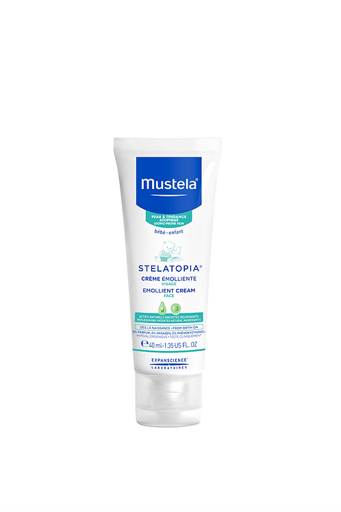 Mustela Stelatopia Emollient Cream for Face 40ml