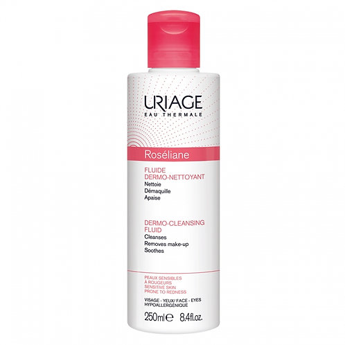 Uriage Roseliane Dermo-Cleansing Fluid for Face & Eyes 250ml