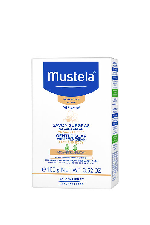 Mustela Gentle Soap With Cold Cream Nutri-Protective 100g