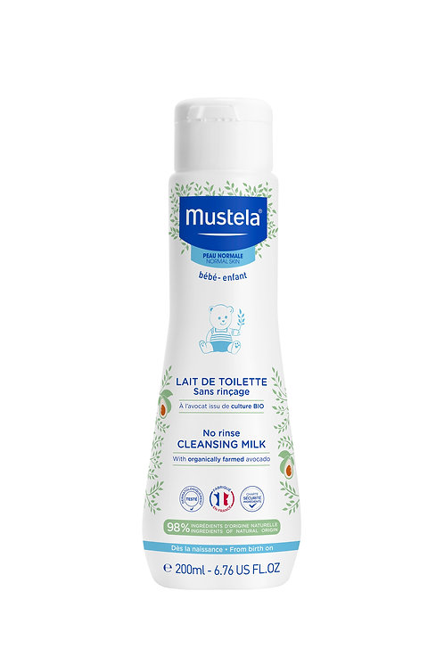 Mustela No Rinse Cleansing Milk 200ml
