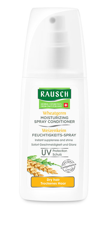 Rausch Wheatgerm Moisturising Spray Conditioner for Dry Hair 100ml