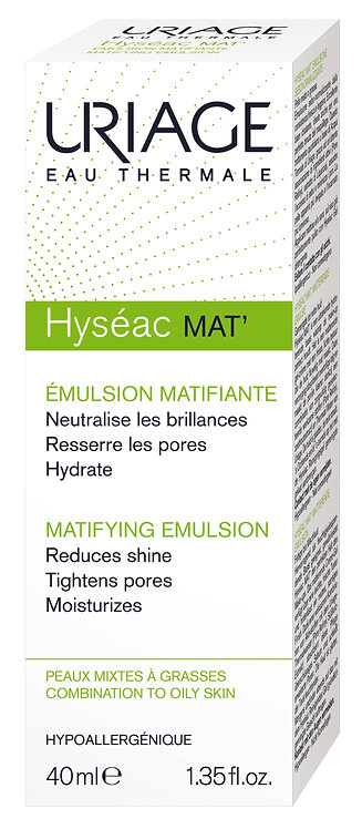 Uriage Hyseac Matifying Emulsion 40ml