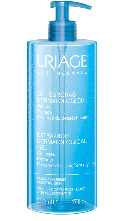 Uriage Extra Rich Dermo Foaming Cleansing Gel 500ml