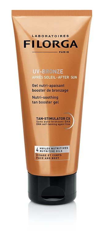 FILORGA UV Bronze After Sun: nutri-soothing tan booster gel