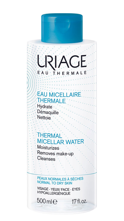 Uriage Thermal Micellar Water Normal to Dry Skin 500ml