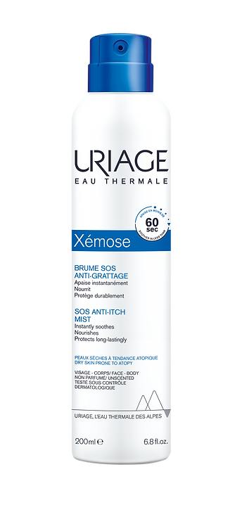 Uriage Xemose Emollient Soothing Mist 200ml NEW
