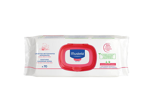 Mustela Soothing Cleansing Wipes (70 wipes)
