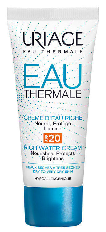 Uriage Thermal Water Rich Water Cream SPF20 40ml