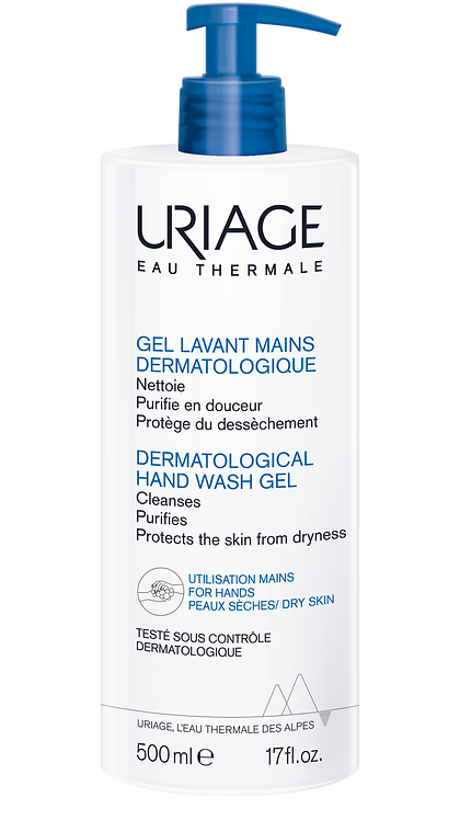 Uriage Dermatological Hand Wash Gel 500ml NEW