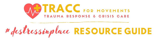 TRACC Resource Guide #destress in place