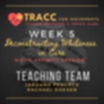tracc training program week 5 white sess