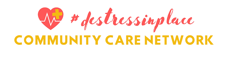 COMMUNITY CARE NETWORK #destress banner.