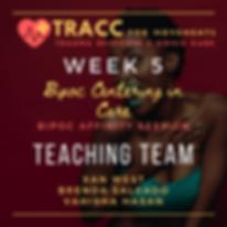 tracc training program week 5 bipoc info