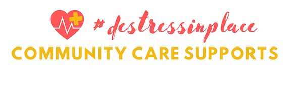 TRACC COMMUNITY CARE SUPPORTS #destress