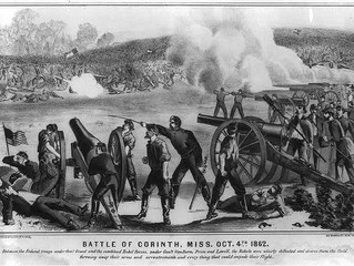Battle of Corinth, MS. and a new Siege Carriage for the Town.