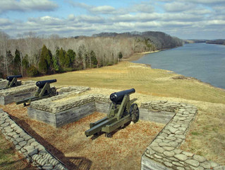 Fort Donelson, Dover, TN Gets Reproduction 32-pounder Seacoast Gun